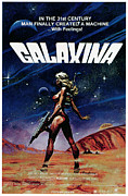 1980 Posters - Galaxina, 1980 Poster by Everett