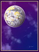 Galaxy 3 Print by John Keaton