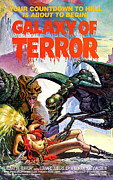 1980s Framed Prints - Galaxy Of Terror, 1981 Framed Print by Everett
