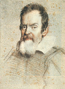 Mathematician Prints - Galileo Galilei Print by Granger