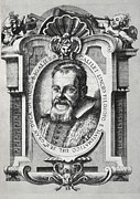 Galilean Moons Posters - Galileo Galilei, Italian Astronomer Poster by Humanities & Social Sciences Librarynew York Public Library
