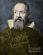 Observation Framed Prints - Galileo Galilei, Italian Polymath Framed Print by Omikron