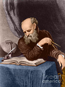 Discovered Photo Prints - Galileo Galilei, Italian Polymath Print by Science Source