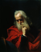 Elderly Paintings - Galileo Galilei by Ivan Petrovich Keler Viliandi