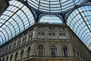 Napoli Photos - Galleria Umberto 1 by Terence Davis