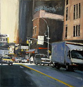 Chelsea Painting Posters - Gallery District Poster by Patti Mollica