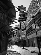 Monotone Prints - Gallery Place Scene Print by Steven Ainsworth
