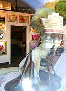Avant Garde Photos - Gallery Window by Lori Seaman