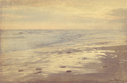 Svetlana Novikova Art Prints - Galveston Island sunset seascape photo Print by Svetlana Novikova