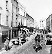 Buggies Framed Prints - Galway Ireland - High Street - c 1901 Framed Print by International  Images