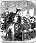 Crook Photos - Gambler On Train, 1873 by Granger