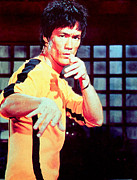 1975 Prints - Game Of Death, Bruce Lee, 1975, 1978 Print by Everett