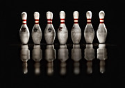 Bowling Framed Prints - Game On Framed Print by Evelina Kremsdorf