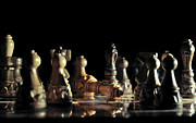 Chess Queen Framed Prints - Game Over Framed Print by Ivan Vukelic
