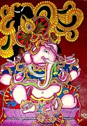 Ganapathi Paintings - Ganapathi by Raj Balram