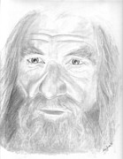Lord Drawings - Gandalf the Grey by Amy Jones
