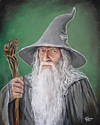 Wizard Art - Gandalf by Tom Carlton