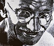 Gandhi Print by Max Eberle
