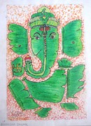 Friendly Pastels - Ganesha by Akanksha Dhumal