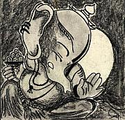 Ganesh Drawings for Sale