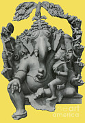Ganapati Prints - Ganesha, Hindu God Print by Photo Researchers