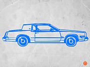 Timeless Design Prints - Gangster car Print by Irina  March