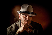 Attitude Photos - Gangster Portrait by Gualtiero Boffi