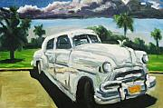 Antiques Paintings - Gangsters on Vacation  by John Malone