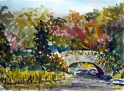 Central Park Originals - Gapstow in September by Chris Coyne