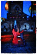 Jet Star Digital Art Prints - Garage Rock Print by Bill Cannon