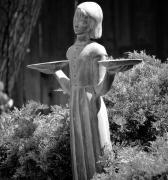 Savannah Photos - Garden Angel by Helen Carson