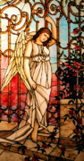 Toga Metal Prints - Garden Angel Metal Print by Kristin Elmquist