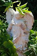 Miami Digital Art Originals - Garden Angel by Rob Hans