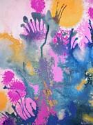 Garden Fantastico Print by Renate Nadi Wesley
