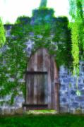 Garden - Garden Gate at the Highlands by Bill Cannon
