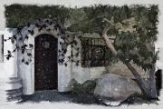 Garden Gate Prints - Garden Gate Print by Patricia Stalter
