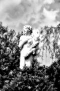 Gaze Digital Art Prints - Garden Gaze Print by Bill Cannon