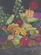 Carol Pastels - Garden Harvest by Carol Thompson