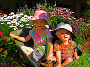 Wheel Photo Originals - Garden Helpers by Michael Durst