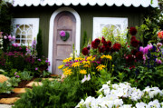 Charming Cottage Photos - Garden House by Daniel  Knighton