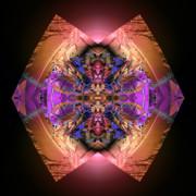 Garden Of Color Print by Claude McCoy