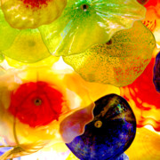 Decorative Glass Art - Garden of Colors by Art Blocks
