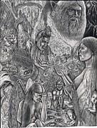 Garden Of Eden Print by Vincnt Clark