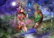 Engagement Digital Art Prints - Garden of Eve Print by Keith Double