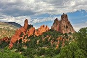Colorado Springs Prints - Garden of the Gods - Colorado Springs CO Print by Christine Till