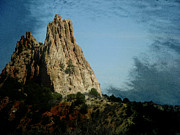 Abstract Expressionist Metal Prints - Garden of the Gods 15 Metal Print by Lenore Senior