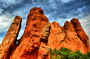 Colorado Springs Prints - Garden Of The Gods 9 Print by Emily Stauring