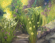 John and Lisa Strazza - Garden Path