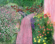 Garden Path Print by Sue Holman