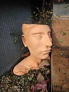 Head Ceramics - Garden Pot by Braven Smillie